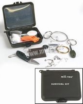 Survival kit in kunstof box