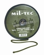 Touw groen 5 mm per meter te bestellen