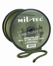 Touw groen 7 mm per meter te bestellen