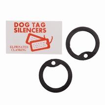 Dog Tag rubber silencers set 2 stuks