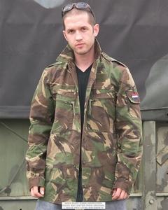 NL BDU Set broek en jas origineel gebruikt !