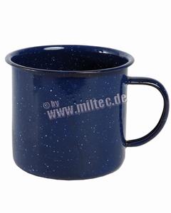 Mega grote Emaille drinkbeker, Mok