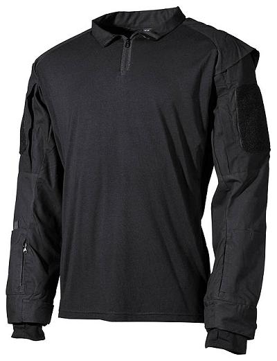 US Tactical Combat shirt zwart