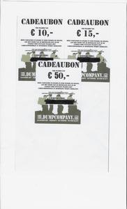 Cadeaubon Waarde 50 Euro