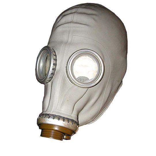 Russisch gasmaskerWordt zonder filter geleverd !