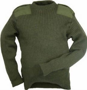 Commando Leger Trui NL 100% Wol, gebruikt OP=OP