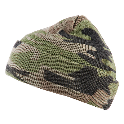 Commando muts camouflage fijn