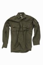 Ribstop overhemd Olive