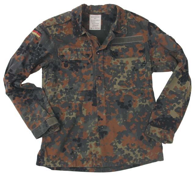 BW BDU jasje Flecktarn origineel gebruikt