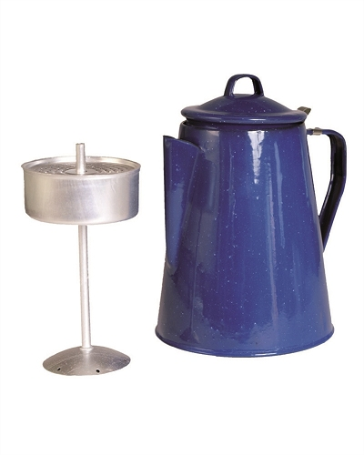 Emaille koffiekan Percolator