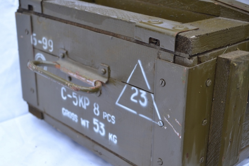 Legerkist hout C-5KP Actie 1 2 voor 75,00