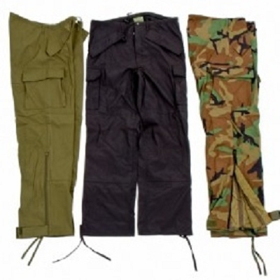 ECWCS pant waterproof in zwart, olive, nl dpm of woodland