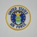 Embleem stof United States Airforce
