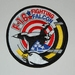 Embleem stof F-16 fighting Falcon