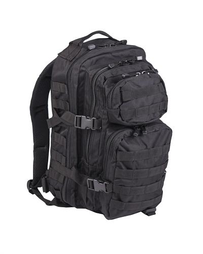 US Assaultpack Zwart Molle Small 25 L