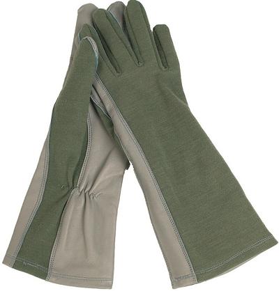 US Pilotenhandschoenen Vliegeniers handschoenen Nomex Olive
