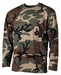 T-shirt lange mouw US  Long Sleeve Woodland