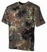 US Camouflage  T-shirt Flecktarn Top kwaliteit !
