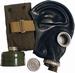 Russisch gasmasker zwart zonder filter