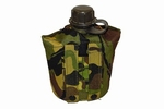 Veldfles leger inclusief camouflagehoes Molle