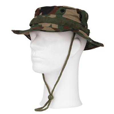 Bushhat Bush hoed leger Woodland camouflage