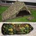 Pup Tent NL camouflage gebruikt origineel  !