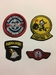 Kaart emblemen USAF stof #5026
