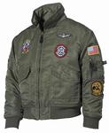 Kinder piloten jas flight jacket
