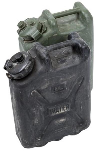 Water Jerrycan 20 liter origineel NL Leger als nieuw !