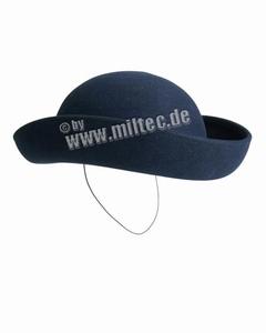 Frans hoedje blauw
