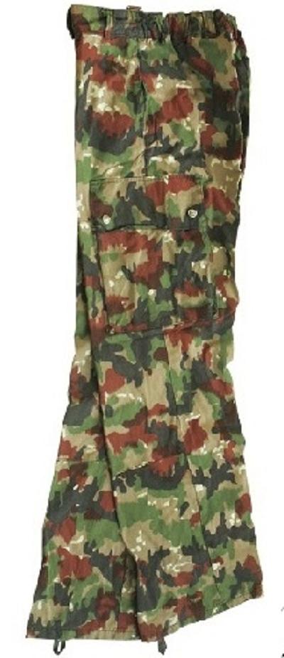 Zwitserse M58 broek camouflage