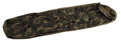 "US GI Bivi bag cover, woodland camouflage ""Bivy Cover"""