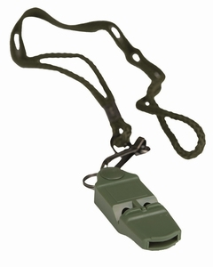 Signaal fluitje No Ball Whistle olive
