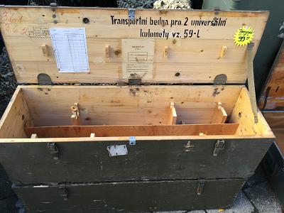 Legerkist hout VZ-59L