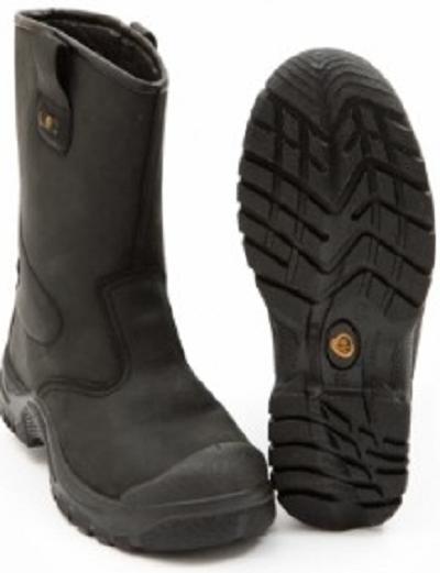 Veiligheidslaarzen S3 gevoerd Zwart