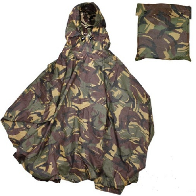 Leger Poncho NL camouflage NOS