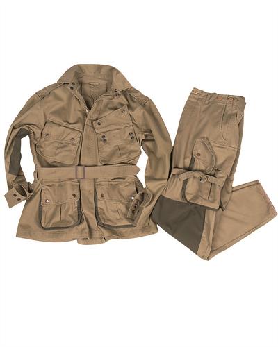 US Para M42 jumpsuit field uniform reenforced