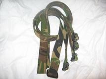 Bindbandjes Mantelriem Camouflage Nieuw ! per 5 stuks