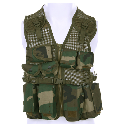 Kinder leger tactical vest camouflage