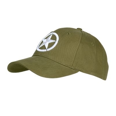 Baseball cap Allied Star WWII 3D
