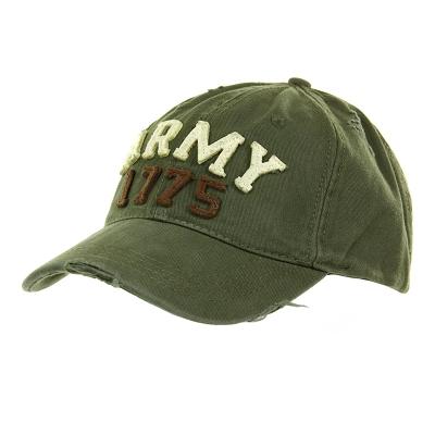 Baseball cap US Stonewashed Army 1775