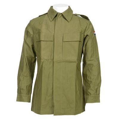 BDU shirt KL groen, origineel