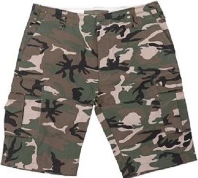 Cargo-Short camouflage short ''Commander VI''