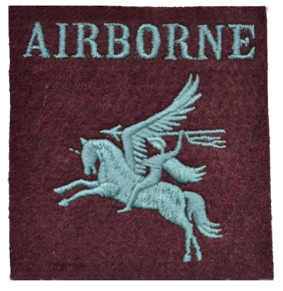 Embleem Airborne Pegasus Brittish