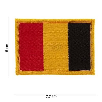 Embleem Belgische vlag