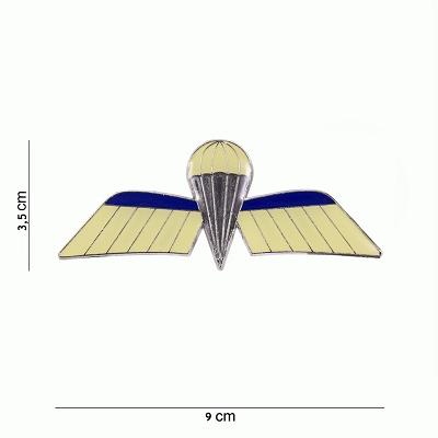 Embleem metaal Nederlandse para wing