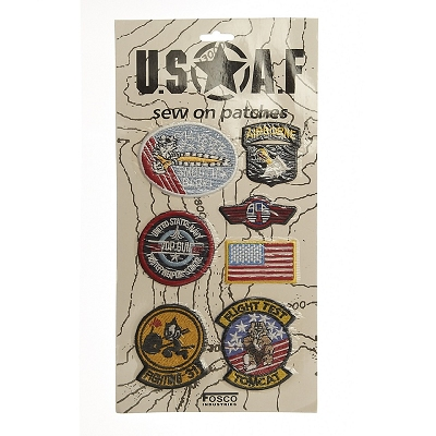 Kaart leger emblemen USAF stof #5026
