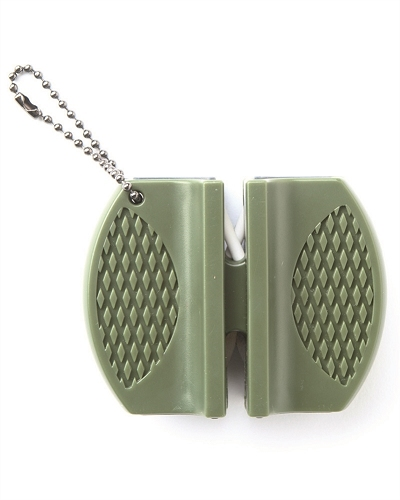 Knife Sharpener Block Olive