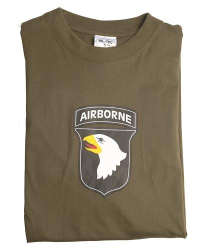 Leger T-shirt  101 st Arborn Division