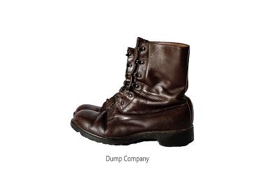 Legerkisten leger kistjes schoenen bruin gebruikt